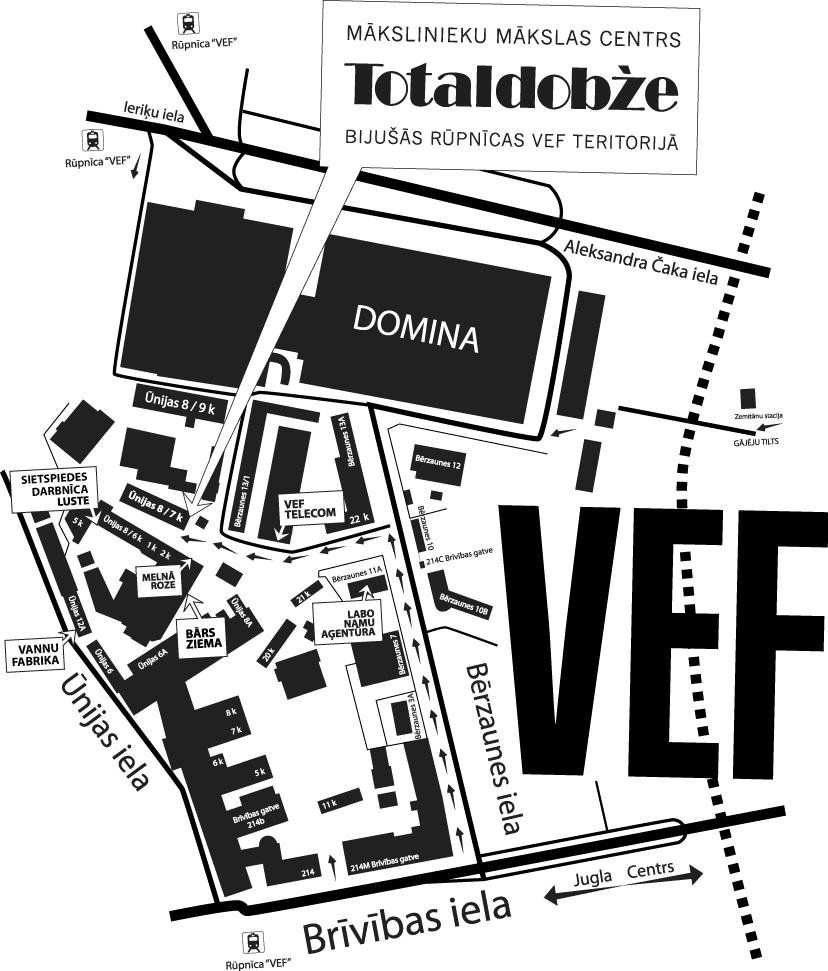 KARTE Rīga '2014 un mākslas invāzija VEF teritorijā