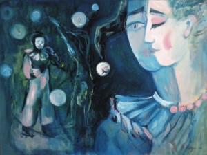 Latviešu mākslinieki, Elga Grīnvalde: Aija Bāliņa ielūdz uz izstādi ZELTA AROMĀTS