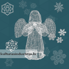 Ziemassvētki, Saulgrieži / eņģelis / Cristmas Angel