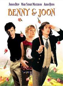 Benny & Joon (1993) / mākslas filma Benijs un Džūna ar Džoniju Depu / afiša