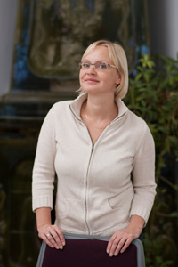 """Aija Karlsberga, SFL programmu direktore un 2. grantu konkursa """"Brigāde"""" žūrijas locekle"""