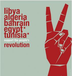 The Arab Spring revolutionary wave / Revolucionārais vilnis 'Arābu pavasaris'
