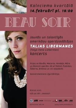 "Taljas Libermanes koncerts ""Beau Soir"""