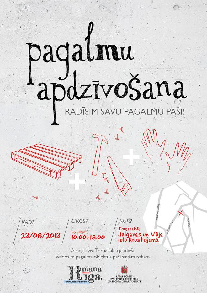 """Projekts """"Mana Rīga"""" un Pagalmu apdzīvošanas iniciatīva, Torņkalns"""