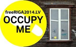 OCCUPY ME pilsēta Rīga