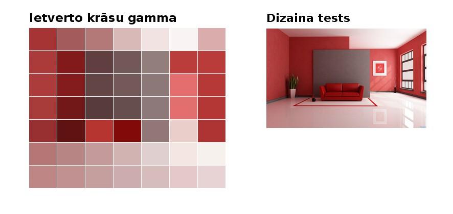Interjera dizainera pakalpojumi, mājokļa interjera un eksterjera krāsu dizains; pasūti tonālo risinājumu online