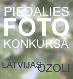 Fotokonkurss Latvijas skaistākie ozoli. Piesakies un iesūti foto!