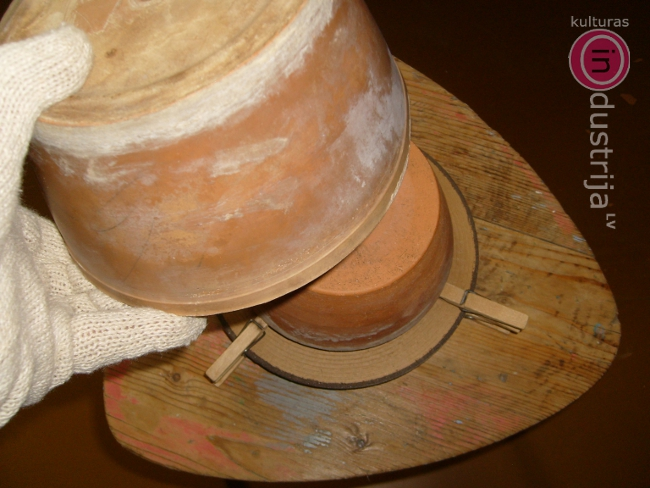 DIY-dari pats. Mini taupības krāsniņa ar tējas sveci