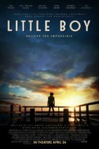 Kinoteātris online - mākslas filma *Mazais* / Малыш / Little Boy / afiša - poster
