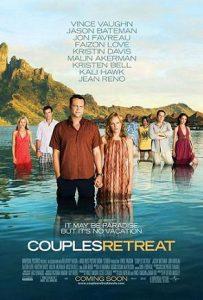 Kino mākslas filma *Brīvdienu teraija* (Couples Retreat) - afiša, poster /  skaties filmas online kinoteātrī bez maksas