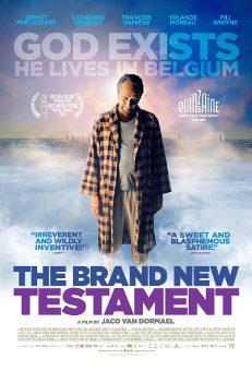 Mākslas filma *Jaunākā Derība* / The Brand New Testament / Новейший Завет - afiša, poster